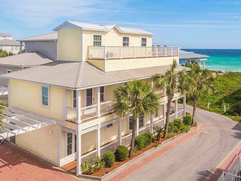 Header - Majestic View Santa Rosa Beach Florida Vacation Rental Home
